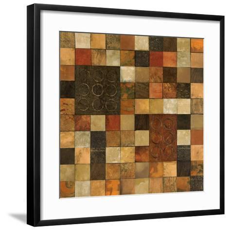 Checker Variation I-Norm Olson-Framed Art Print