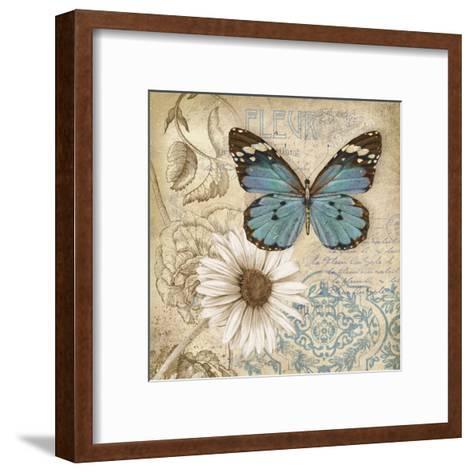 Butterfly Garden II-Conrad Knutsen-Framed Art Print