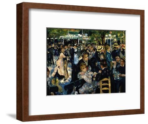 Le Moulin de la Galette c.1876-Pierre-Auguste Renoir-Framed Art Print