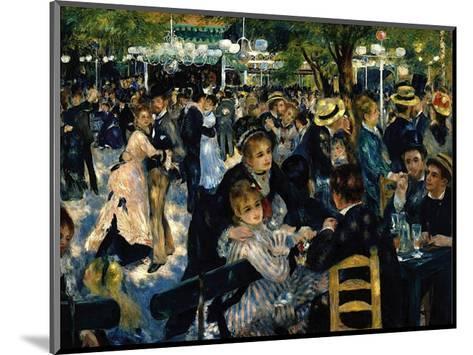 Le Moulin de la Galette c.1876-Pierre-Auguste Renoir-Mounted Art Print