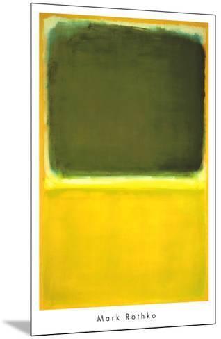 Untitled, c.1951-Mark Rothko-Mounted Art Print