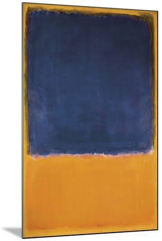 Untitled, c.1950-Mark Rothko-Mounted Art Print