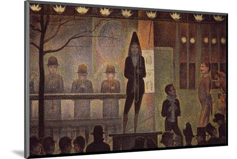 Circus Sideshow-Georges Seurat-Mounted Art Print
