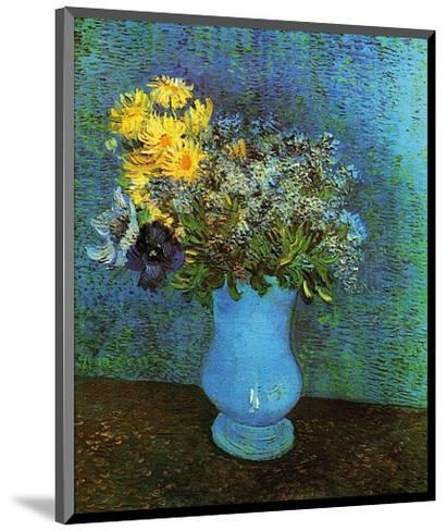 Vase with Lilacs, Daisies and Anemone-Vincent van Gogh-Mounted Art Print