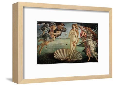 The Birth of Venus-Sandro Botticelli-Framed Art Print
