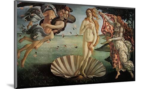 The Birth of Venus-Sandro Botticelli-Mounted Art Print