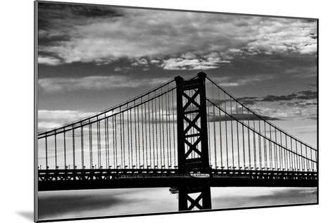 Benjamin Franklin Bridge-Erin Clark-Mounted Art Print
