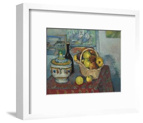 Still Life with Soup Toureen, c.1877-Paul C?zanne-Framed Art Print