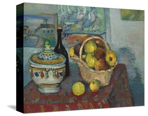 Still Life with Soup Toureen, c.1877-Paul C?zanne-Stretched Canvas Print