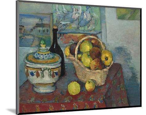 Still Life with Soup Toureen, c.1877-Paul C?zanne-Mounted Art Print