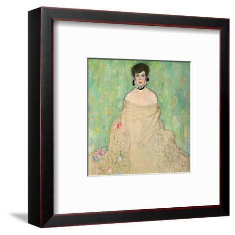 Portrait of Amalie Zuckerkandl, c.1918-Gustav Klimt-Framed Art Print