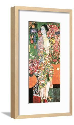 The Dancer, c.1918-Gustav Klimt-Framed Art Print