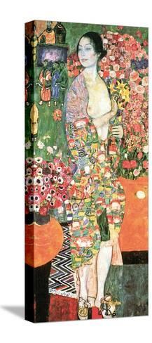 The Dancer, c.1918-Gustav Klimt-Stretched Canvas Print