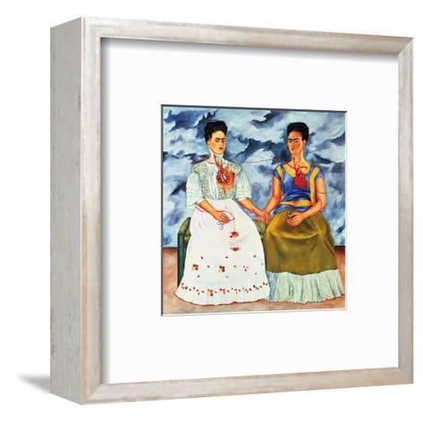 The Two Fridas, c.1939 Framed Art Print by Frida Kahlo | Art.com