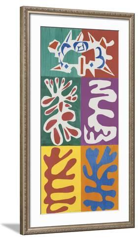 Panel with Mask, c.1947-Henri Matisse-Framed Art Print