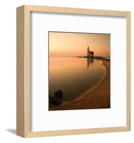Netherlands Lighthouse-Maciej Duczynski-Framed Art Print