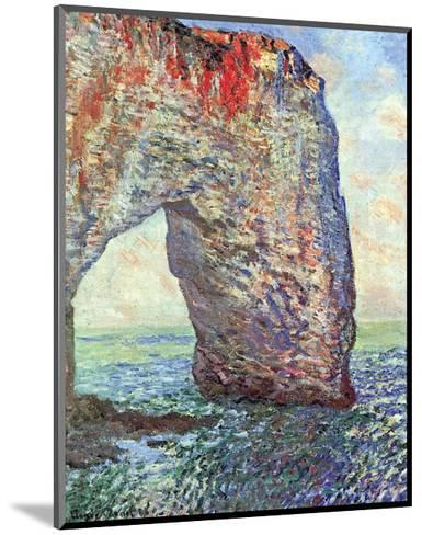 The Manneporte near Etretat, c.1886-Claude Monet-Mounted Art Print