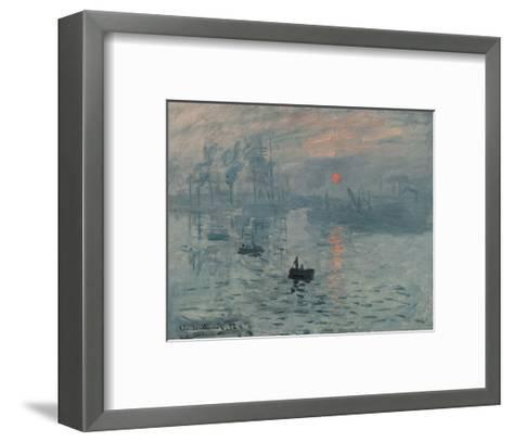 Impression, Sunrise-Claude Monet-Framed Art Print