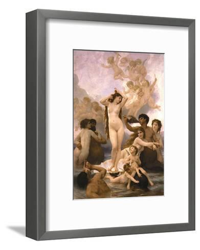 The Birth of Venus-William Adolphe Bouguereau-Framed Art Print