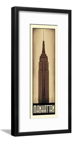 Manhattan-Steve Forney-Framed Art Print