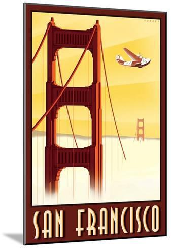 San Francisco-Steve Forney-Mounted Art Print