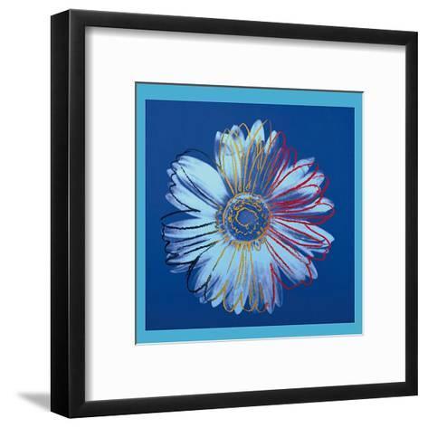 Daisy, c.1982 (Blue on Blue)-Andy Warhol-Framed Art Print