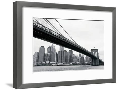 Manhattan from Brooklyn-Erin Clark-Framed Art Print