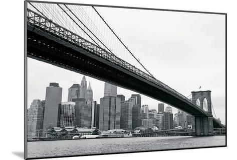 Manhattan from Brooklyn-Erin Clark-Mounted Art Print