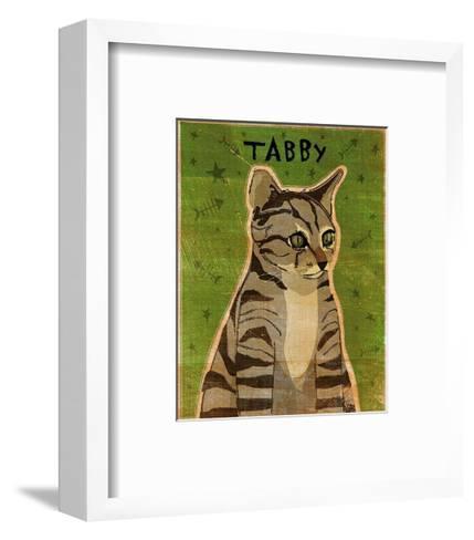 Tabby (grey)-John Golden-Framed Art Print