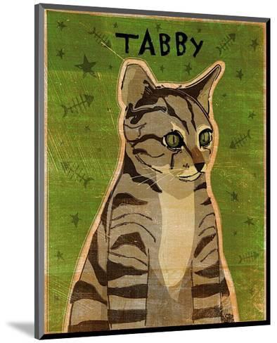 Tabby (grey)-John Golden-Mounted Art Print