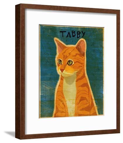 Tabby (orange)-John Golden-Framed Art Print