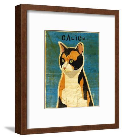 Calico-John Golden-Framed Art Print