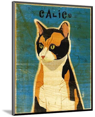 Calico-John Golden-Mounted Art Print