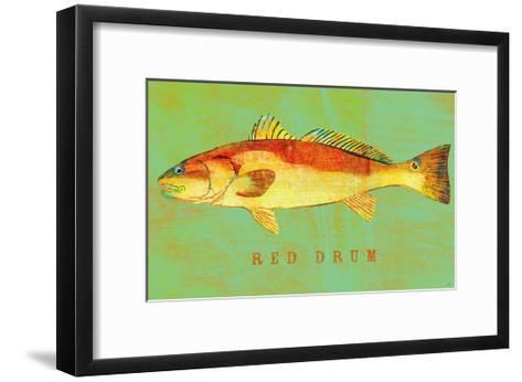Red Drum-John Golden-Framed Art Print