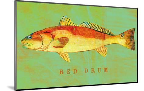 Red Drum-John Golden-Mounted Art Print