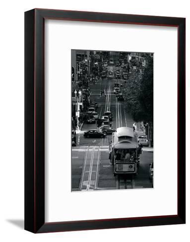 Streets of San Francisco-Sabri Irmak-Framed Art Print
