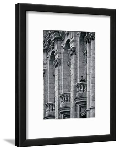 Solitary Man-Sabri Irmak-Framed Art Print