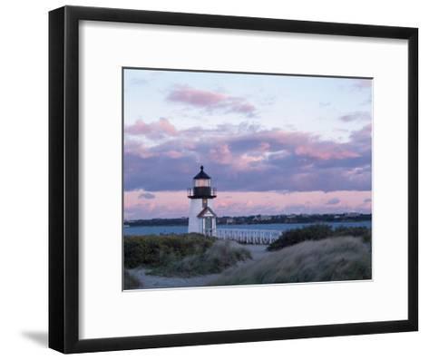 Brant Point Light-Rezendes-Framed Art Print