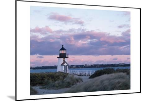 Brant Point Light-Rezendes-Mounted Art Print
