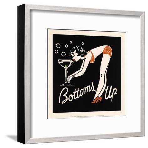 Bottoms Up--Framed Art Print