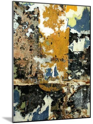Black and Gold Layers-Jenny Kraft-Mounted Art Print