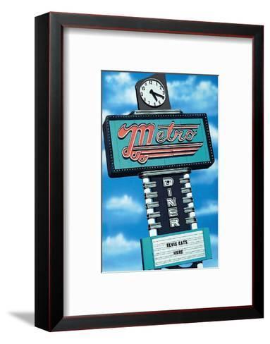 Metro Diner-Anthony Ross-Framed Art Print