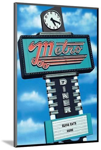 Metro Diner-Anthony Ross-Mounted Art Print