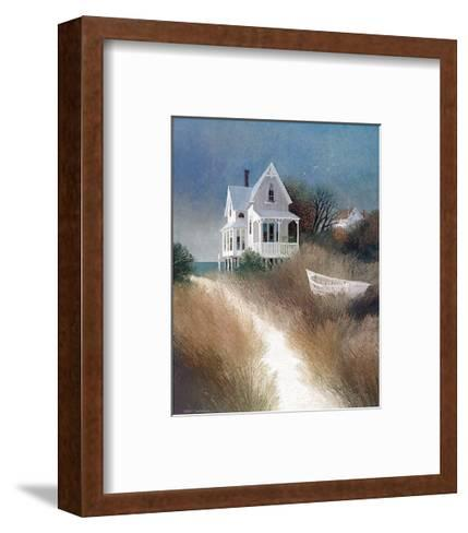 Sand Path-Albert Swayhoover-Framed Art Print