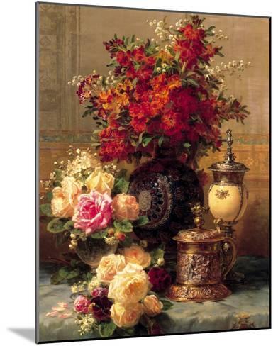 Summer Buffet I-Jean Baptiste Claude Robie-Mounted Art Print