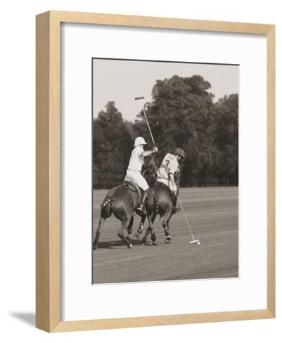 Polo In The Park II-Ben Wood-Framed Art Print