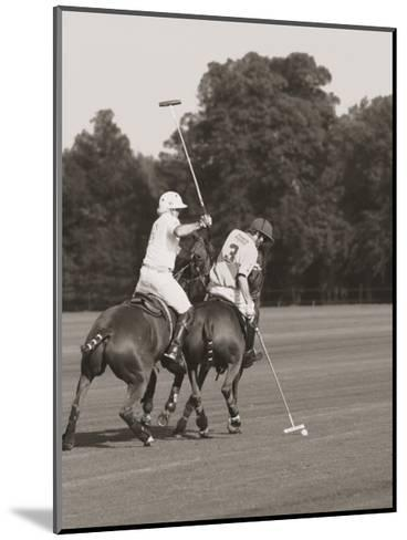 Polo In The Park II-Ben Wood-Mounted Art Print