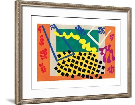 Les Codomas-Henri Matisse-Framed Art Print