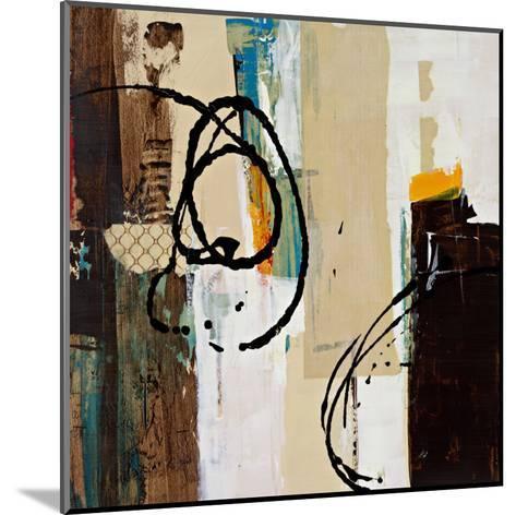 Abstract Collage III-Bridges-Mounted Art Print