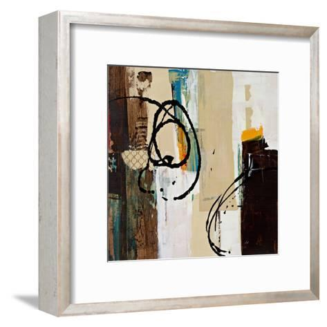 Abstract Collage III-Bridges-Framed Art Print